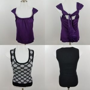 ~ The Limited Tank Top XS Lot of 2 Sleeveless Polk